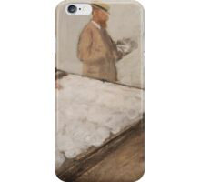 Edgar Degas - Cotton Merchants in New Orleans (1873) iPhone Case/Skin