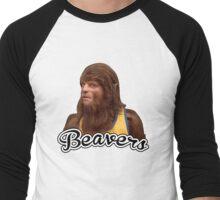 Teenwolf - Beavers Men's Baseball ¾ T-Shirt