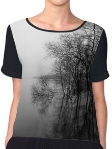 Loch Lomond Scotland Mist  Chiffon Top