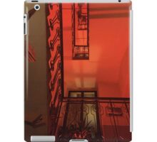 Red staircase iPad Case/Skin