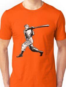 Baseball player hitting Unisex T-Shirt