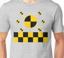 Crash Test Markings Unisex T-Shirt