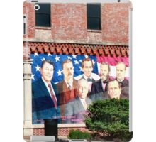 Presidential Mural/ Sterling, IL (usa) iPad Case/Skin