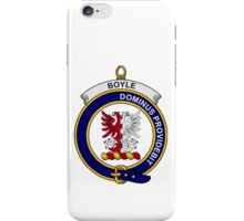 Boyle Clan Badge iPhone Case/Skin