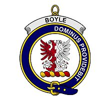 Boyle Clan Badge Photographic Print