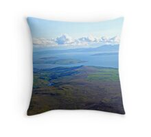 Isle of Arran, Bute, Cumbrae  Throw Pillow