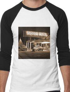 Route 66 - Wigwam Motel Men's Baseball ¾ T-Shirt