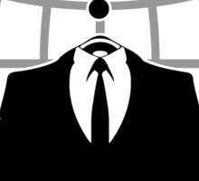 Anonymous Logotype Sticker