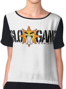 GloGang World Wide! Chiffon Top