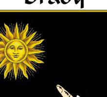 Brady Coat of Arms/Family Crest Sticker
