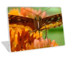 Great Spangled Fritillary Portrait Laptop Skin