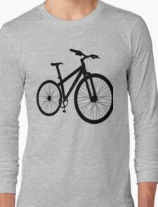 Bicycle silhouette Long Sleeve T-Shirt