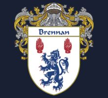 Brennan Coat of Arms/Family Crest Kids Tee