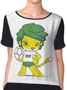 South Africa mascot zakumi Chiffon Top