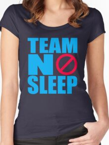Team No Sleep Women's Fitted Scoop T-Shirt