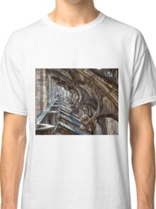 Rooftop Il Duomo Milan Italy Classic T-Shirt