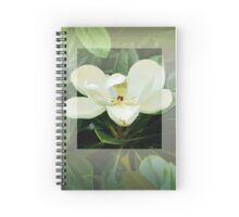 Magnolia Flower Spiral Notebook
