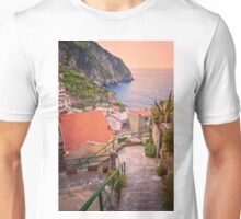 Steps to Riomaggiore Cinque Terre Italy Unisex T-Shirt