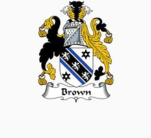 Brown Coat of Arms/Family Crest Unisex T-Shirt