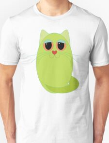 CAT CHARTREUSE ONE Unisex T-Shirt