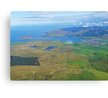Campbeltown & Davvar Island Mull of Kintyre  Canvas Print