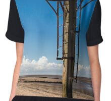 On Fleetwood beach-? Chiffon Top