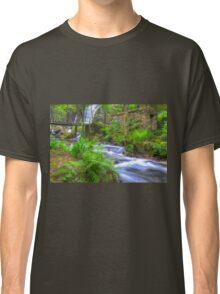 The Green Waterfall Classic T-Shirt