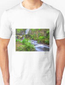 The Green Waterfall Unisex T-Shirt