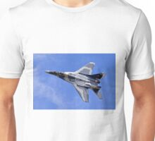 MiG-29A Fulcrum A - Red 111 Unisex T-Shirt