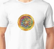 The Flower of Life - dark Unisex T-Shirt