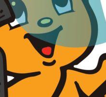 Pipo-Kun - Riot Gear Sticker