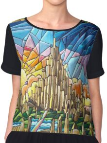 Asgard stained glass style Chiffon Top