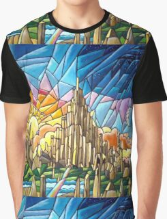 Asgard stained glass style Graphic T-Shirt