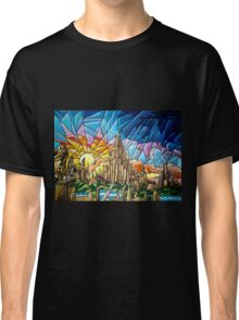 Asgard stained glass style Classic T-Shirt