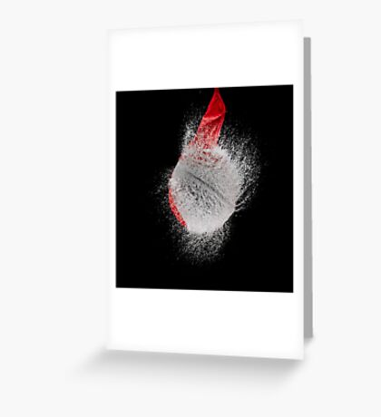 Red Balloon Pop Greeting Card