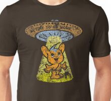 Pipo-Kun - Time To Go Home - Distressed Unisex T-Shirt