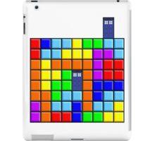 Tardis Tetris iPad Case/Skin