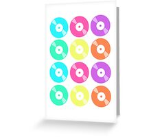 Records on Repeat Greeting Card