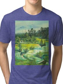 green valley Tri-blend T-Shirt