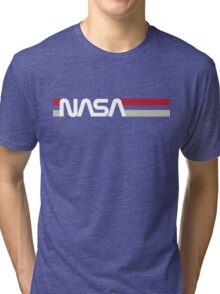 Retro NASA Tri-blend T-Shirt