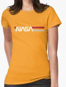 Retro NASA Womens Fitted T-Shirt