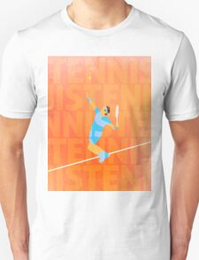 Tennis love Unisex T-Shirt