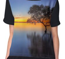 From Little Things Big Things Grow - Wellington Point Qld Australia Chiffon Top