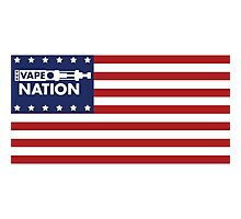 Vape Nation - Born in the U.S.A. Photographic Print