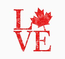 Canadian Love Affair Womens Fitted T-Shirt