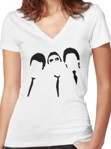 We three kings Women's Fitted V-Neck T-Shirt