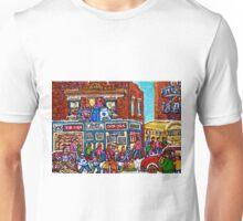VINTAGE MONTREAL BAGEL SHOP Unisex T-Shirt