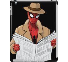 Spyderman iPad Case/Skin