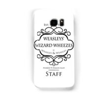 Weasleys' Wizard Wheezes V3 Staff Shirt Samsung Galaxy Case/Skin