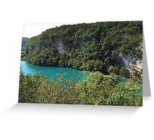Jungle River in Croatia Greeting Card
